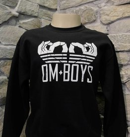 Mens - Om Boys - Crew Neck Pull Over - Om Hands