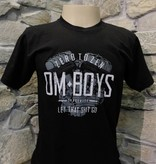 Mens - Om Boys - Black S/S T-Shirts - Let That Shit Go
