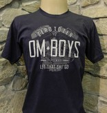 Mens - Om Boys - Navy S/S T-Shirts - Let That Shit Go