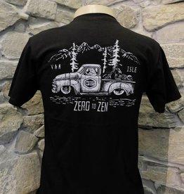 Mens - Om Boys - Black S/S T-Shirts - Zen Truck