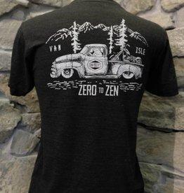 Mens - Om Boys - Charcoal S/S T-Shirts - Zen Truck
