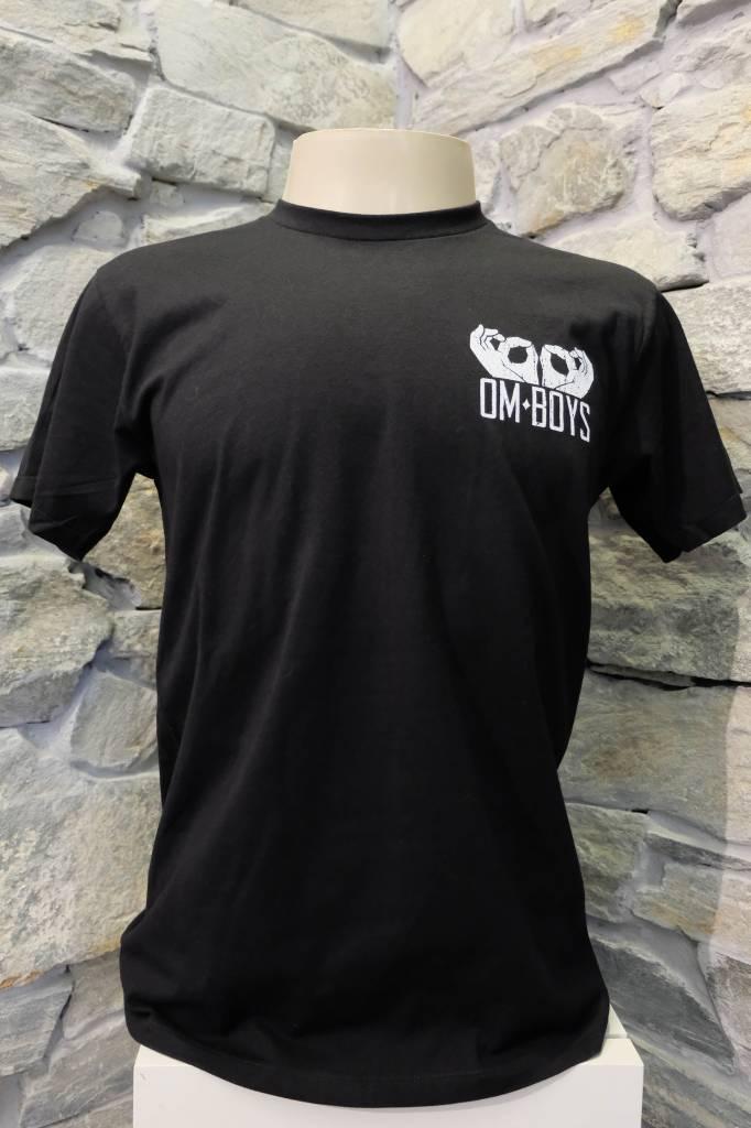 Mens - Om Boys - Black S/S T-Shirts - Skeletom