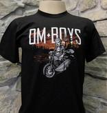 BL133-BLA-BU - Om Boys - Black S/S T-Shirts
