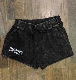 Womens - Om Boys - Mineral Wash Shorts - Om Boys