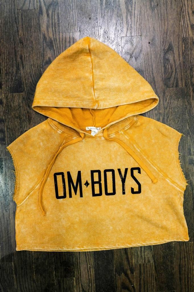 Womens - Om Boys - Mineral Wash Hoodie - Om Boys