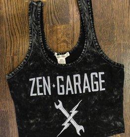Womens - Om Boys - Mineral Wash Top - Zen Garage