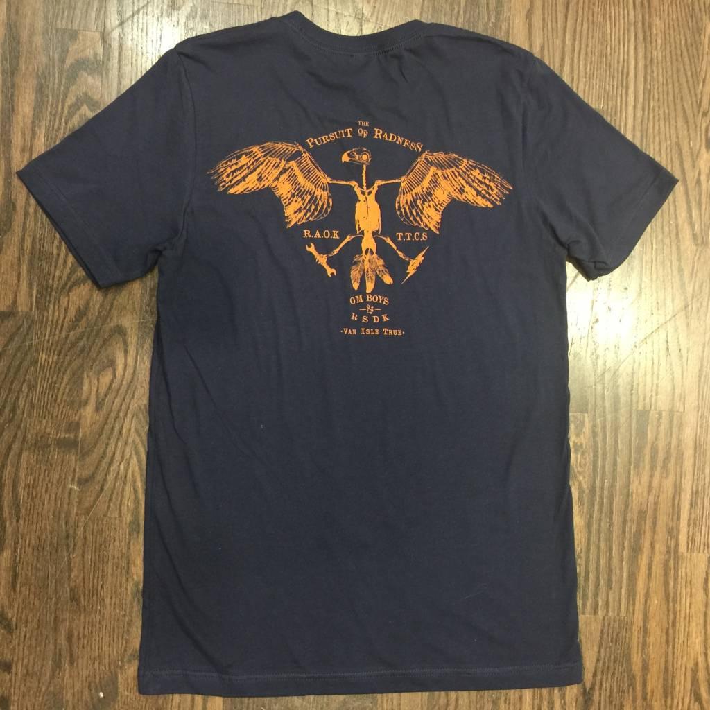 Mens - Om Boys - Navy S/S T-Shirts - Om Boys & RSDK