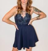 CZ22 - Lovely Day - LaceTop Full Skirt Dress