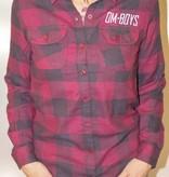 Womens - Om Boys - L/S Plaid Shirt - Ganesh