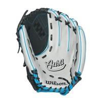 "Wilson AURA 12 1/2"" Fastpitch Softball Glove WTA08LF16125"