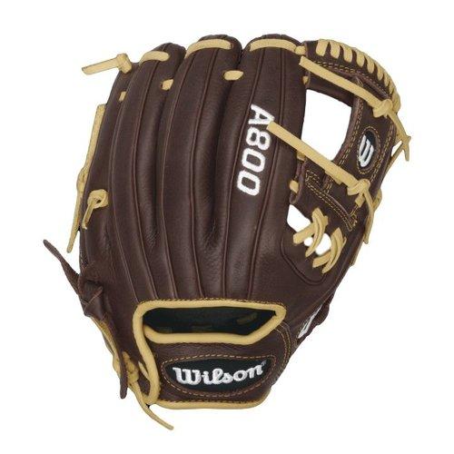 "Wilson SHOWTIME Pedroia Fit 11 1/2"" Baseball Glove WTA08RB16115PF"