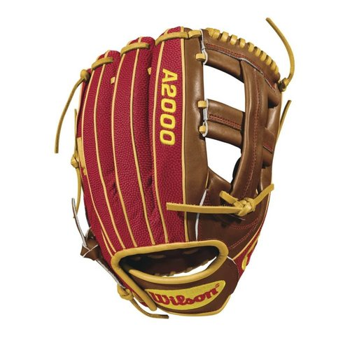 "Wilson 2018 DP15 A2000 11 3/4"" Baseball Glove WTA20RB18DP15GM RHT"