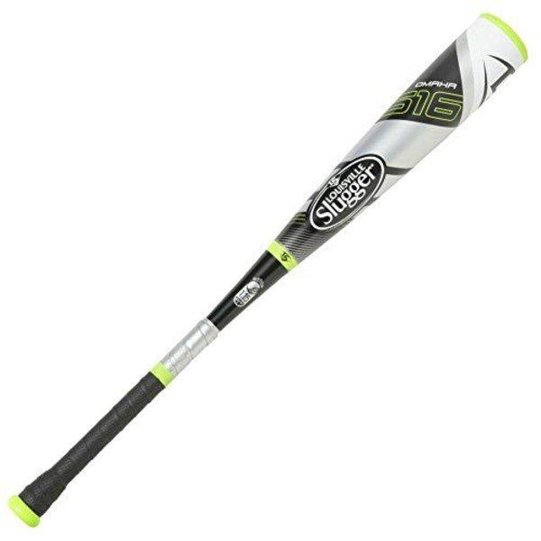 "Louisville Slugger Louisville Slugger OMAHA 516  2 3/4"" -10 Coach Pitch  Baseball Bat 25/15"