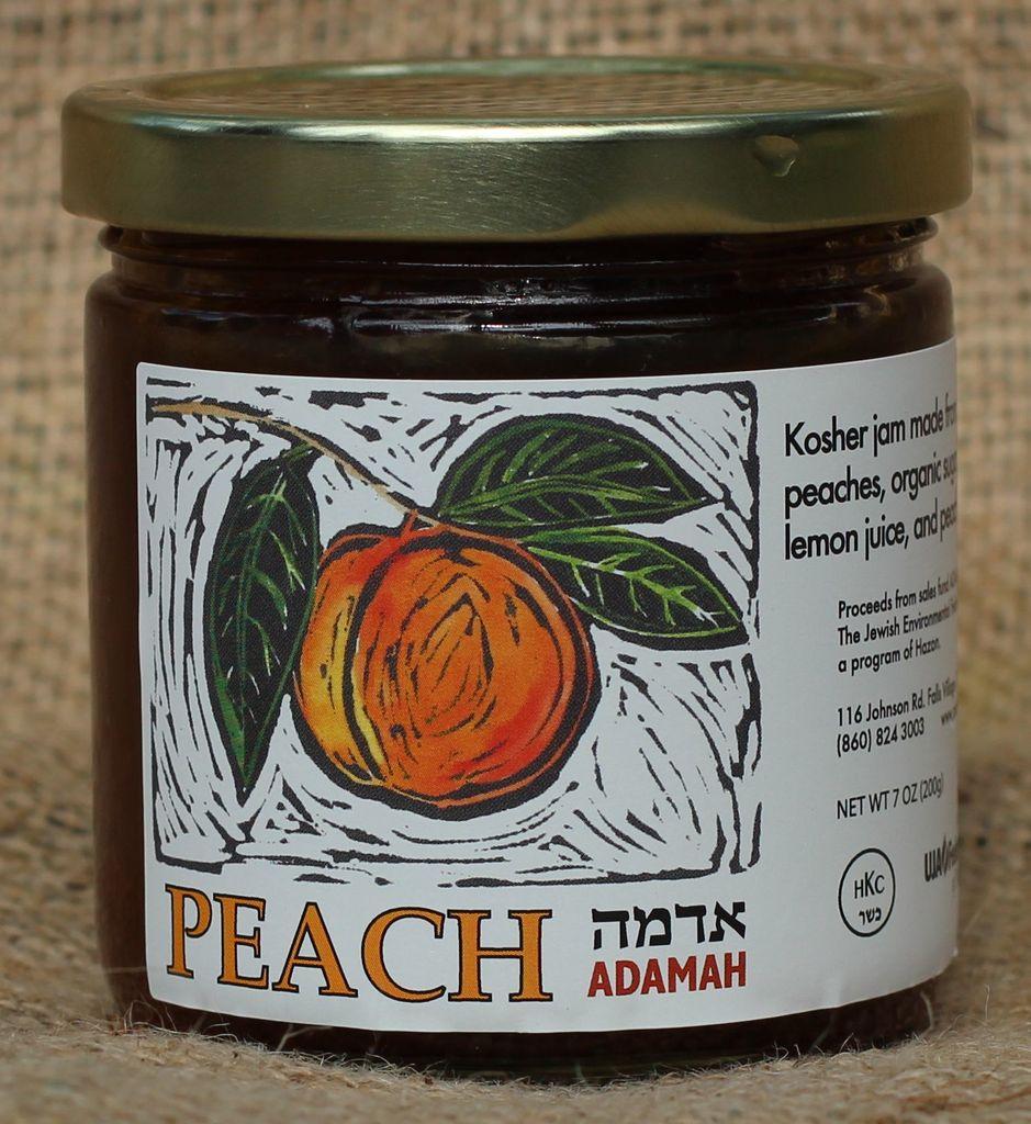 Adamah Peach Jam