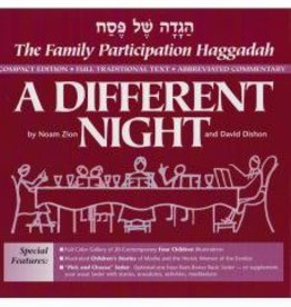 A Different Night: The Family Participation Haggadah—Compact Edition - Noam Zion & David Dishon