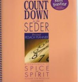 Count Down to the Seder: Personal Pesach Planner: from the Makers of Spice and Spirit - Lubavitch Women's Cookbook Publications
