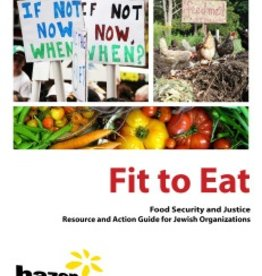 Hazon Educational Materials Fit To Eat