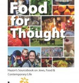 Food for Thought - Nigel Savage and Anna Hanau