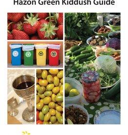 Hazon Educational Materials Hazon Green Kiddush Guide