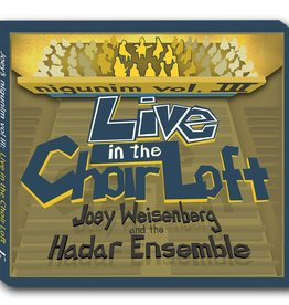 Nigunim Vol. III: Live in the Choir Loft - Joey Weisenberg CD