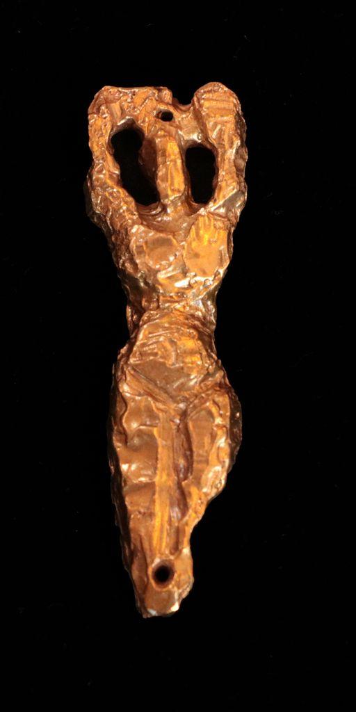 "Bronze Mezuzah: ""Kohenet"" by Rabbi Elyssa Austerklein"