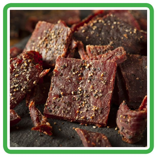 Black Pepper Beef Jerky - Grow and Behold