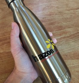 Hazon Vacuum Insulated Water Bottle - 17 fl. oz, rose gold