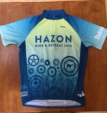 Vintage Hazon Bike Jersey - 2016 Ride & Retreat