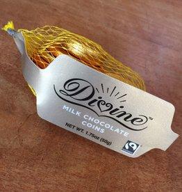 Divine Chocolate Guilt-Free Gelt - Milk Chocolate