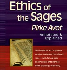 Ethics of the Sages: Pirke Avot - Rabbi Rami Shapiro (trans.)