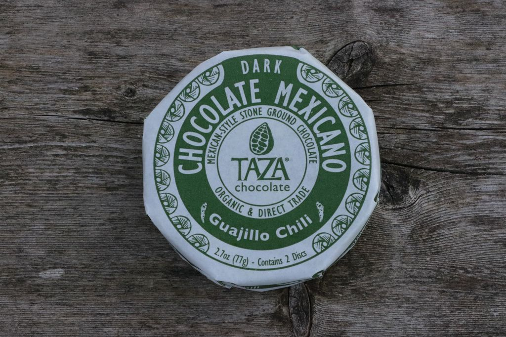 Taza Chocolate Mexicano Disc - Guajillo Chili, 50% dark