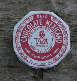 Taza Chocolate Mexicano Disc - Cinnamon, 50% dark