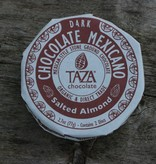 Taza Chocolate Mexicano Disc - Salted Almond, 40% dark