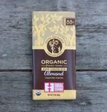 Equal Exchange Organic Chocolate Almond 55% Cacao