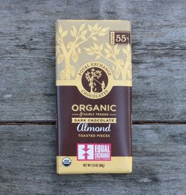 Equal Exchange Organic Chocolate Almond 55% Cacao