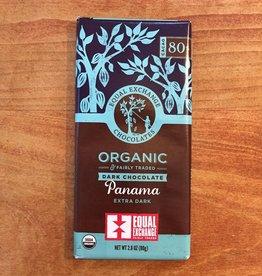 Organic Panama Extra Dark Chocolate (80% Cacao) - Equal Exchange
