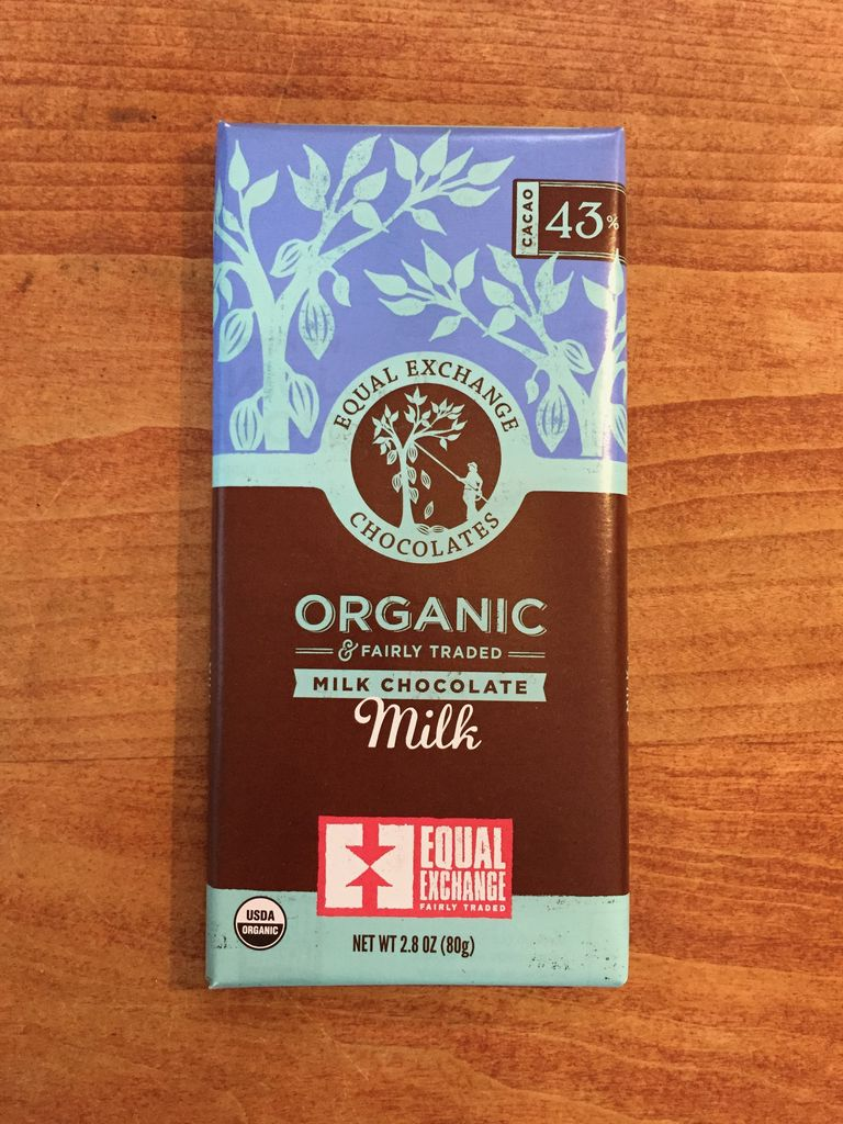 Organic Milk Chocolate 43% Cacao - Equal Exchange