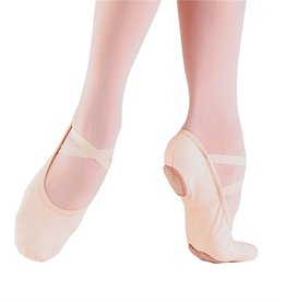 So Danca Canvas Split-sole Shoe Pink RY