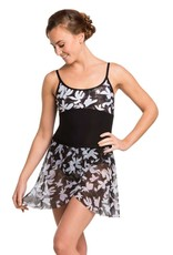 Ainsliewear Tara Leotard with Floating Flower Print