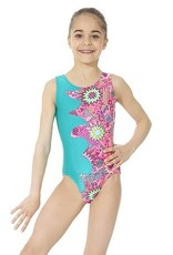 Mondor Child's Printed Gymnastics Leotard