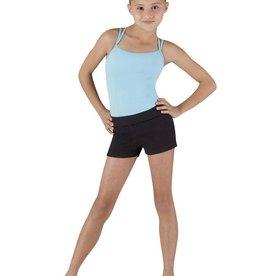 Bloch DEUX-Round Front Shorts