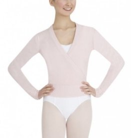 Capezio Long Sleeve Wrap Sweater