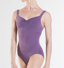 Wear Moi Mabel Empire waist tank leotard, front pinch and V-back