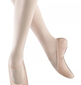 Bloch Belle Child's ballet Slipper without drawstring, (Pink)