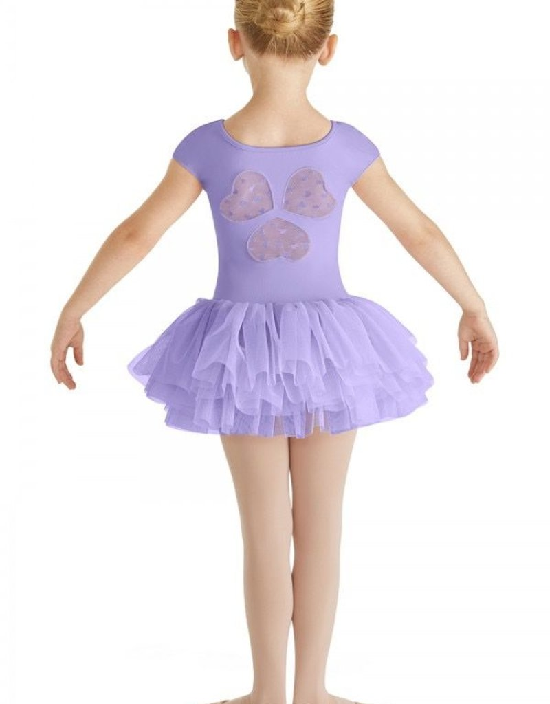 Bloch Frea | Heart Mesh Back Cap Sleeve Tutu Leotard