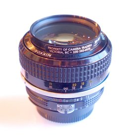 RENTAL Nikon 55mm f1.2 AI Nikkor rental.