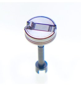 Pentacon Rewind knob and spindle for Praktica LTL.