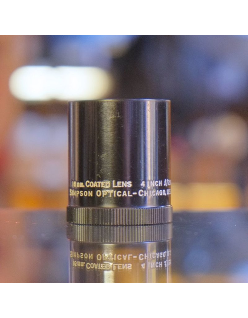 Other Simpson Optical 4-Inch f2.8 16mm Coated Lens (partial)