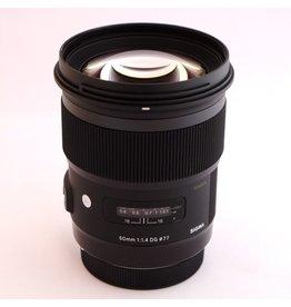 RENTAL Sigma Art 50mm f1.4 DG lens rental.