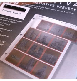 Printfile Printfile 120-4B negative sleeves for 120 format.